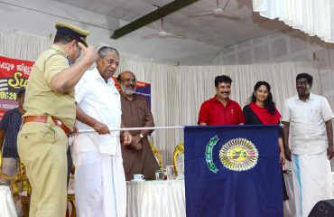 Hon'ble Chief Minister Inaugurating GPS Traffic Detecting System .