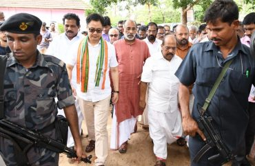 Ministers of State Visited Relief Centers of District.