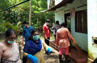 Cleaning Activities Performed by Vanitha Commission