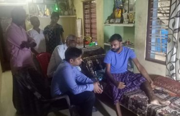 District Collector Visits Fisherman