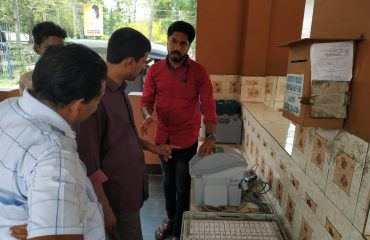 EVM / VVPAT Introducing to public at Mannar-Chegannur LAC