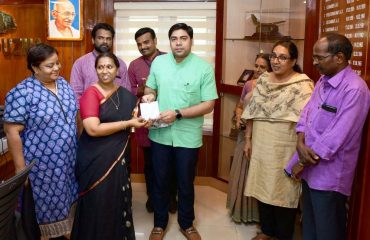 Launching of 'Charithravum Varthamanavum' Documentary by District Collector