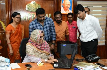 District Collector inaugurated online ticket launching of Nehru Trophy Boat Race -2019