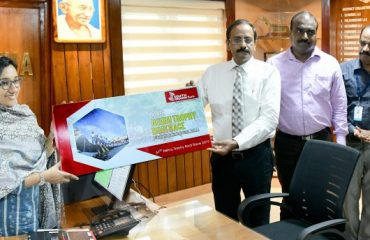 District Collector inaugurated South Indian Bank's Nehru trophy boat race online tickets.-2019