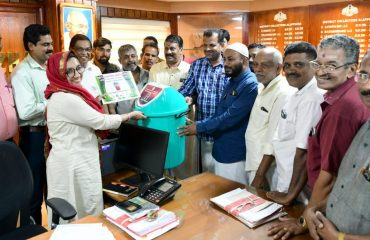 District Collector inaugurated Thelima Project-2019