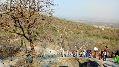 Tourist At Kauleshwari