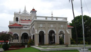 Aagakhan palace Front View