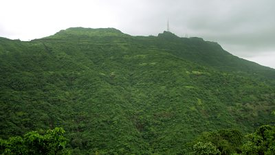 Sinhagad-Rear View